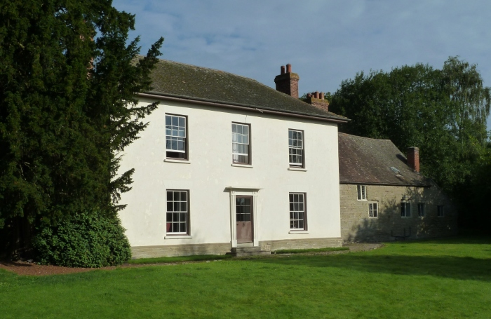 The Aston Munslow White House in Shropshire